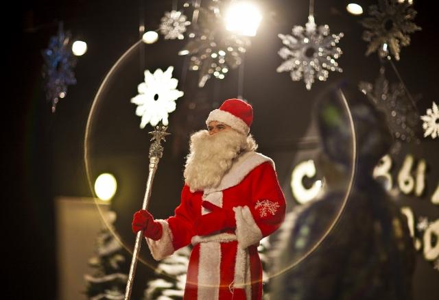 А вот и Дедушка Мороз!