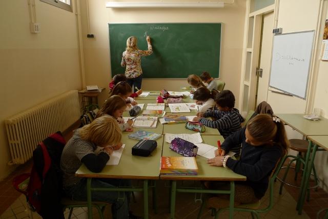 Урок � усского Языка во 2м классе  -как стараются ребята!
